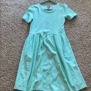 LuLaRoe Amelia Dress size L
